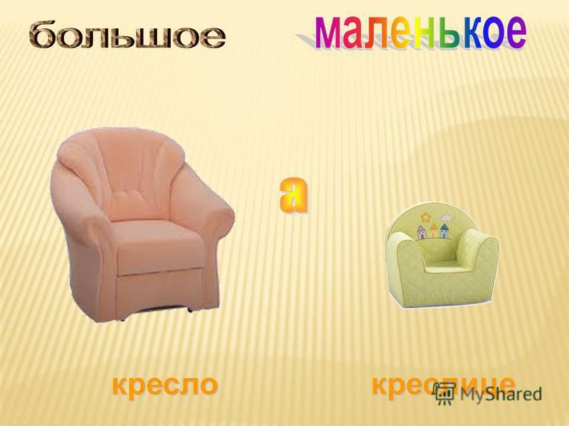 кресло креслице