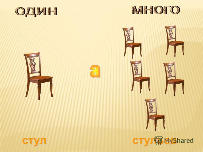 стул стульев
