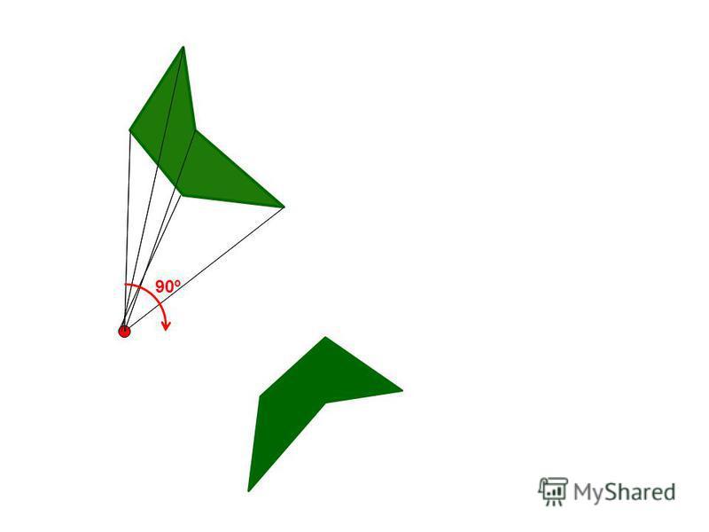А А1А1 О Поворотом плоскости около данной точки О называется такое движение, при котором каждый луч, исходящий из этой точки, поворачивается на один и тот же угол в одном и том же направлении. Определение Поворот задается: углом поворота; центром пов