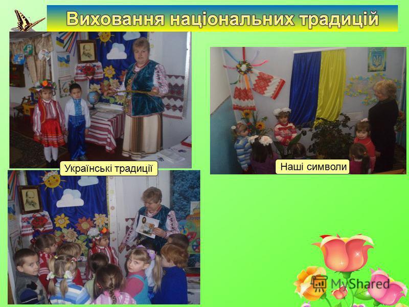 Наші символи Українські традиції