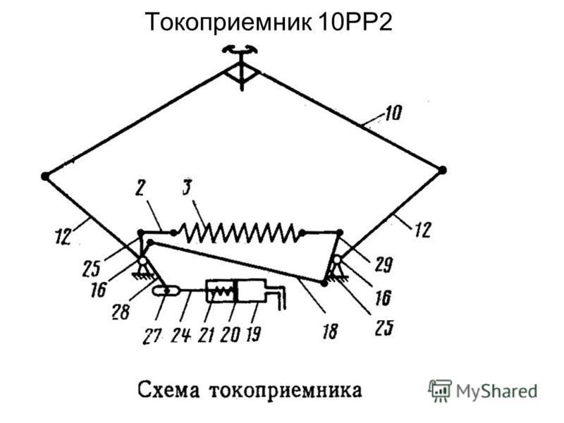 Токоприемник 10РР2