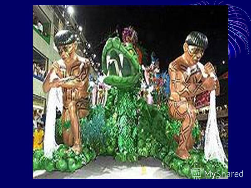 Бразильское чудо- карнавал в Рио.