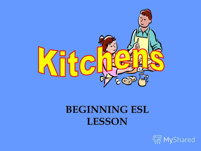 BEGINNING ESL LESSON