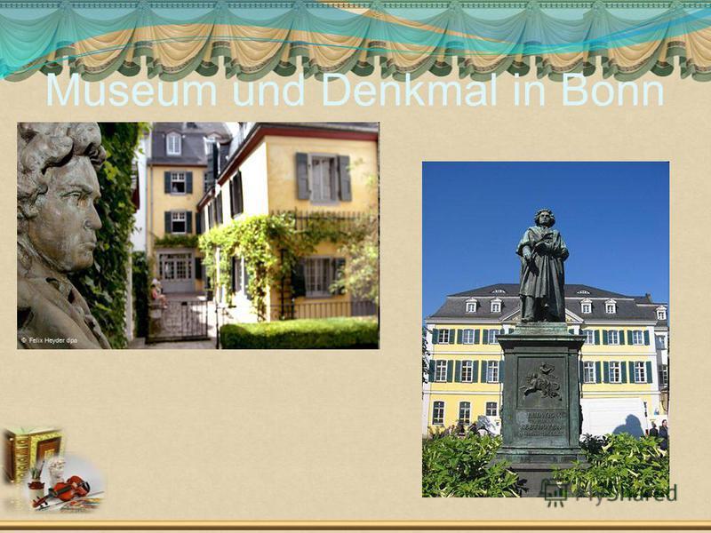 Museum und Denkmal in Bonn