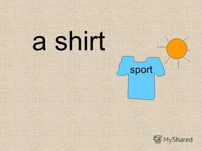 sport a shirt