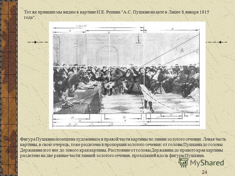 24 Тот же принцип мы видим в картине И.Е. Репина