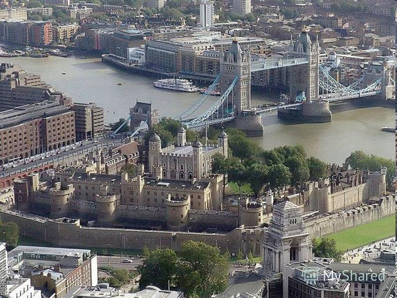 The Tower of London is in the …. City