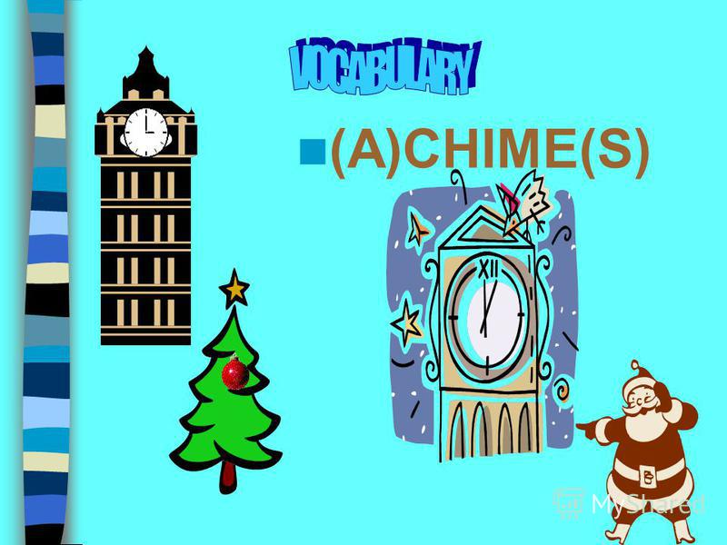 You are going to 1. learn some new words 2. watch and discuss the film about Christmas and New Year in the UK 3. speak about Russian Christmas and New Year 5. sing songs