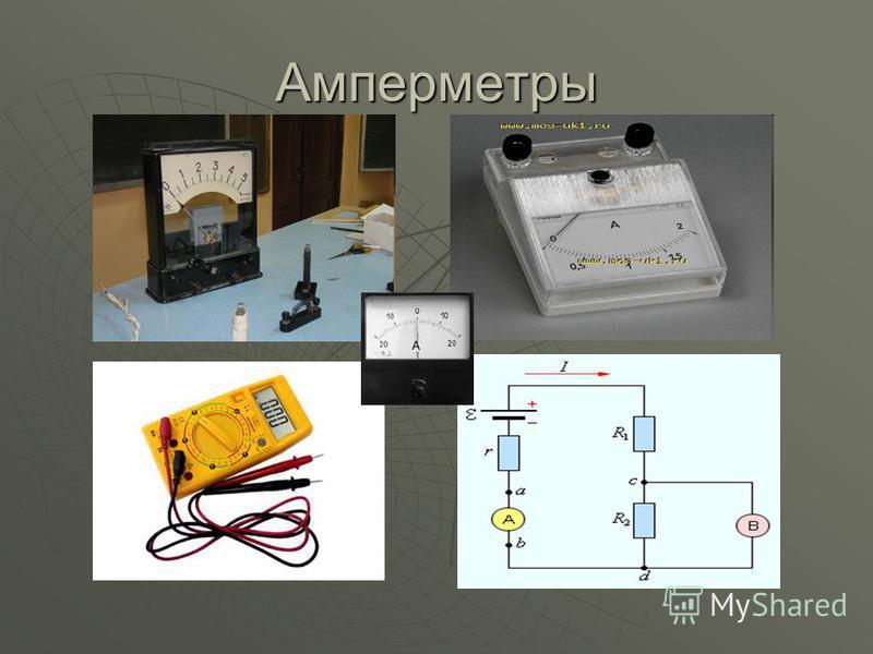 Амперметры
