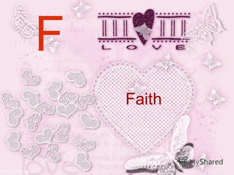 F Faith