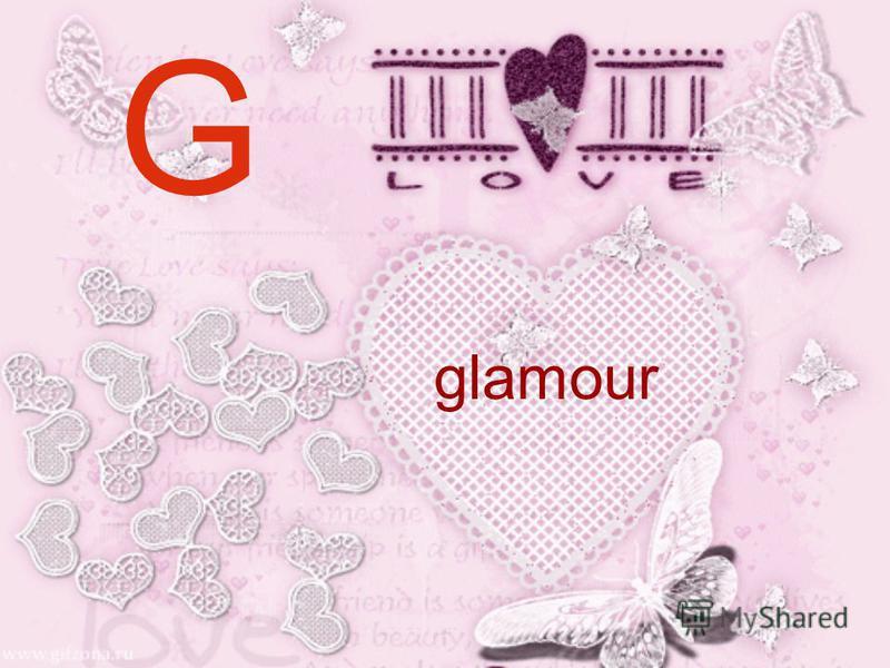 G glamour