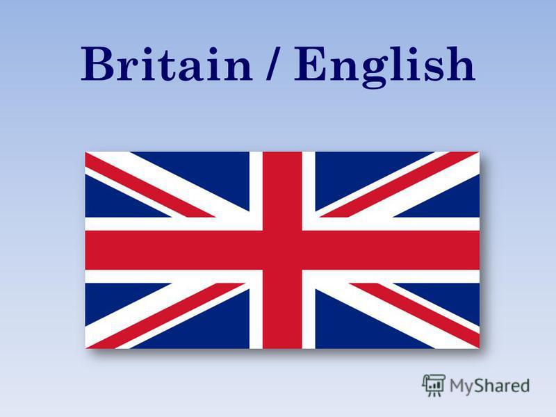 Britain / English