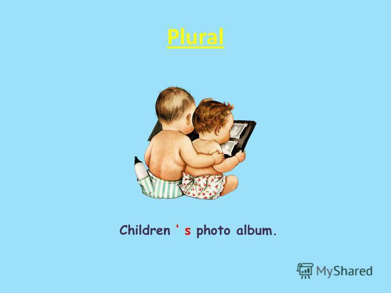 Plural Children s photo album.