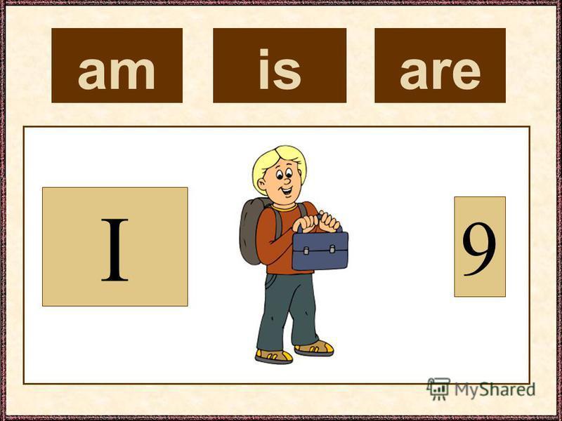 am I 9 isare