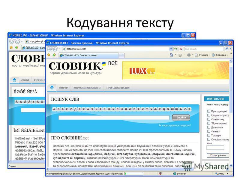 Кодування тексту