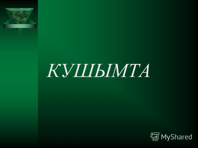 КУШЫМТА