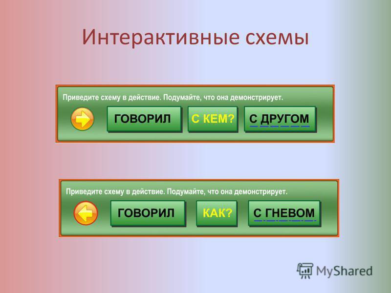 Интерактивные схемы