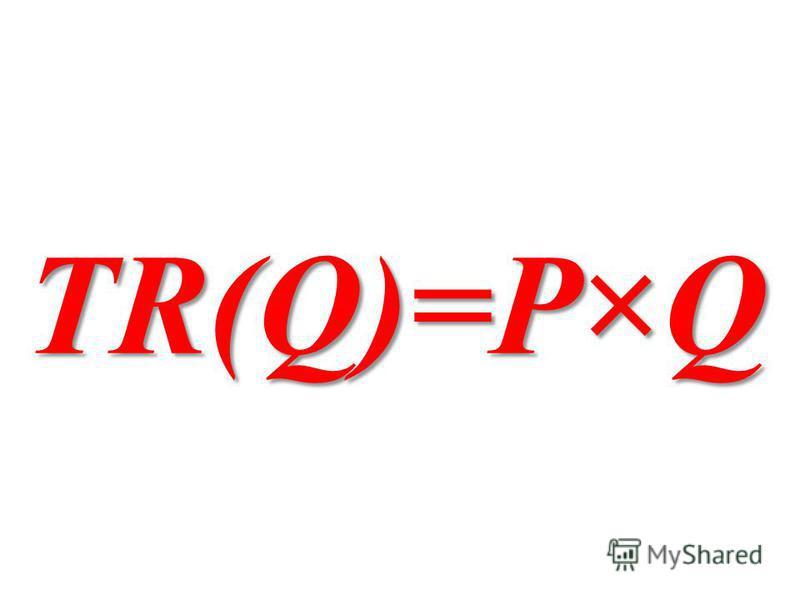 TR(Q)=P×Q