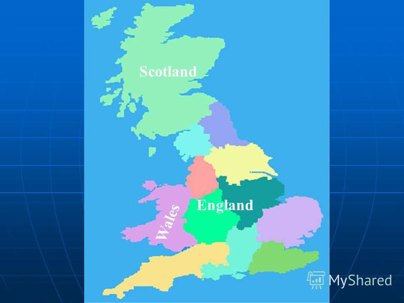 Scotland England W a l e s