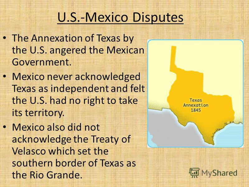 A history of annexations cause and effect in texas