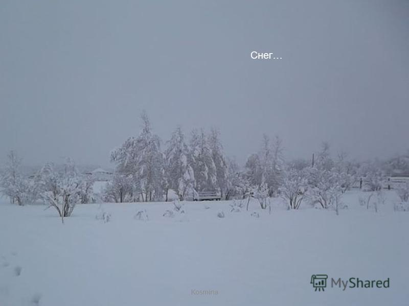 FokinaLida.75@mail.ru Снег ложится - Kosmina