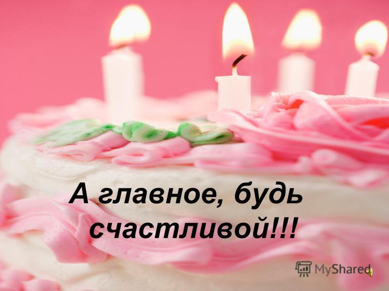 Поздравления с днем рождения будь такой же обаятельной 24