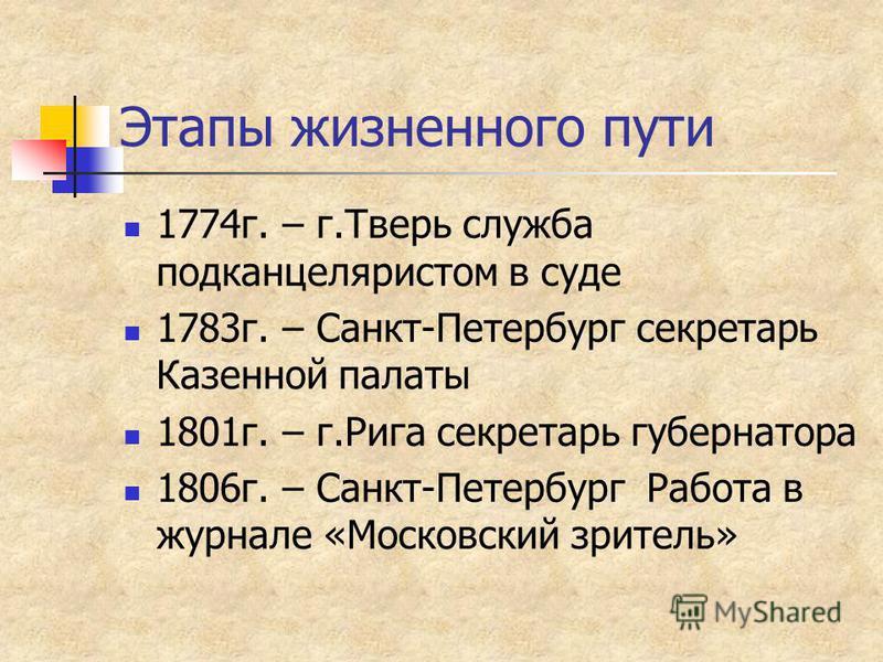 Выходные данные Дата рождения 13 февраля 1769 года Место рождения Москва Дата смерти 21 ноября 1844 года Место смерти Санкт-Петербург Гражданство Российская империя Род деятельности писатель Жанр басня