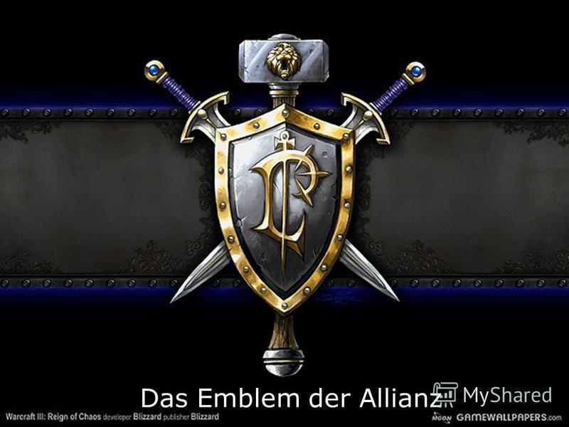 Das Emblem der Allianz