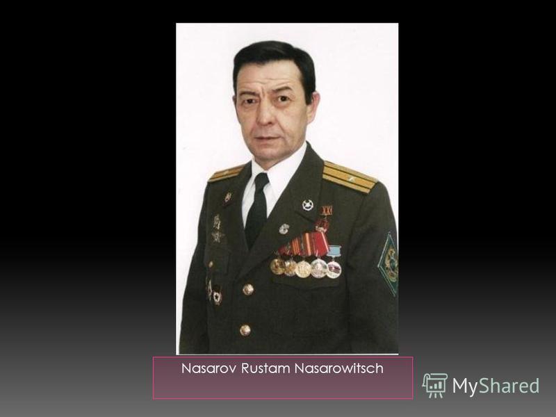 Nasarov Rustam Nasarowitsch