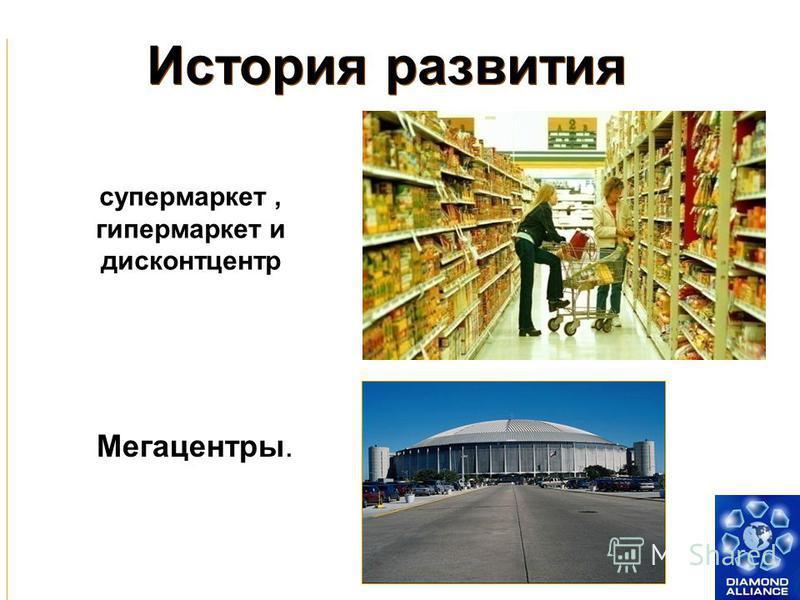 История развития Вещевые и продовольственные рынки Мелкие киоски и магазинчики