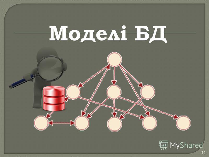 11 Моделі БД