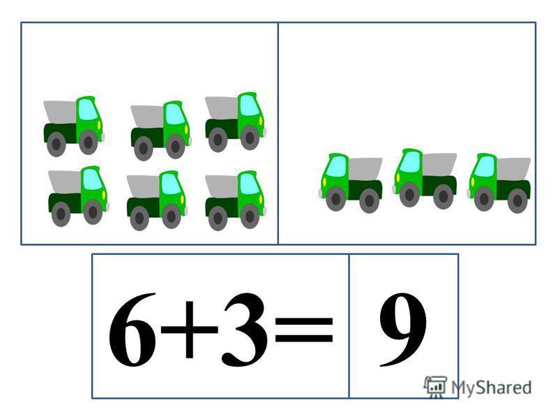6+3=9
