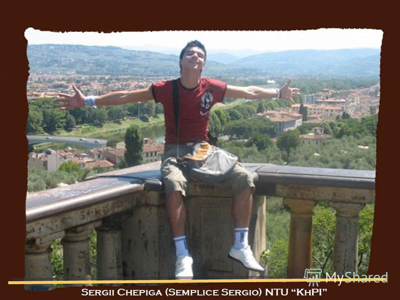 Sergii Chepiga (Semplice Sergio) NTU KhPI