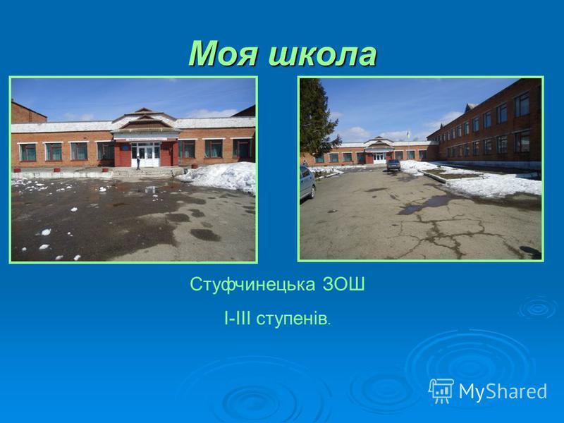 Моя школа Стуфчинецька ЗОШ I-III ступенів.