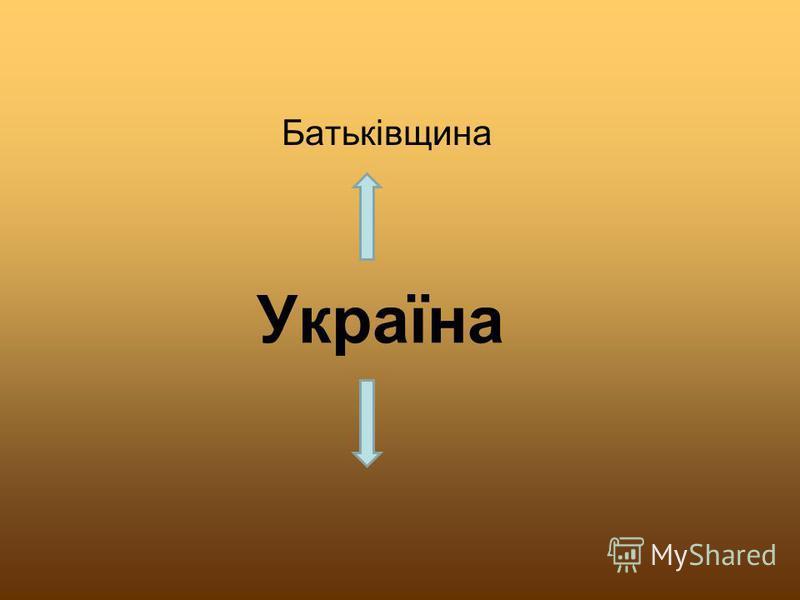 Україна Батьківщина