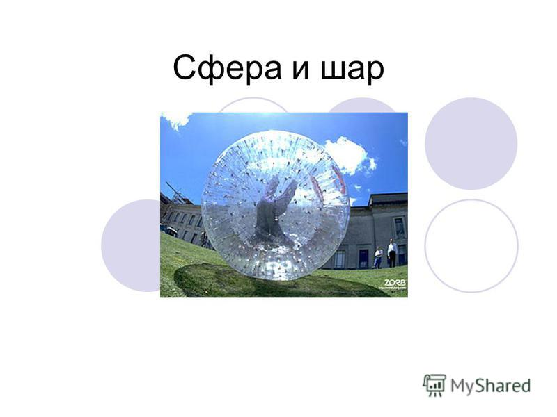 Сфера и шар