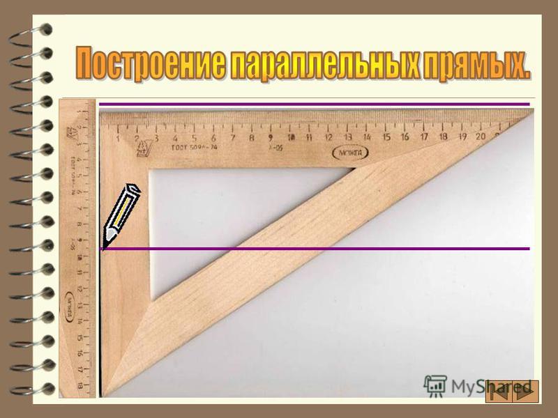 a О d Две различные прямые могут пересекаться только в одной точке. c h A B C D Две различные прямые на плоскости могут и не пересекаться, т.е. быть параллельными. с || h; CD || AB