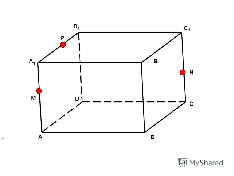 AB C D D1D1 A1A1 B1B1 C1C1 M N P