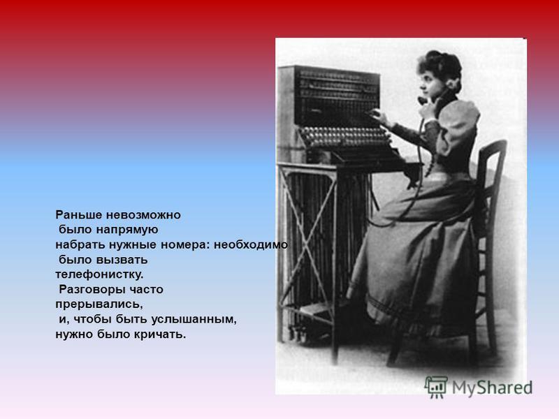Телефон был изобретен Александром Грэхемом Беллом в 1876 г. Телефон 1920-х годов Т Е Л Е Ф О Н Приёмник Передатчик
