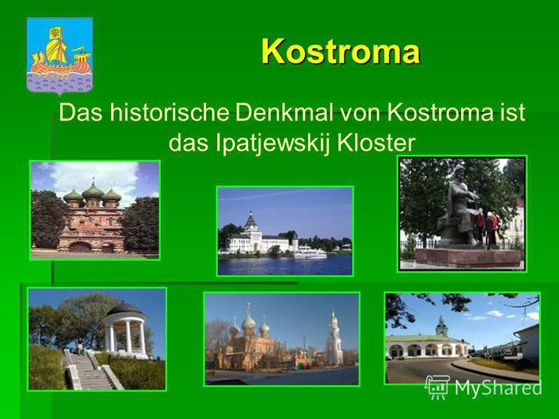 Jaroslawl Im Zentrum der Stadt befindet sich das Spasso- Preobrashenskij Kloster.