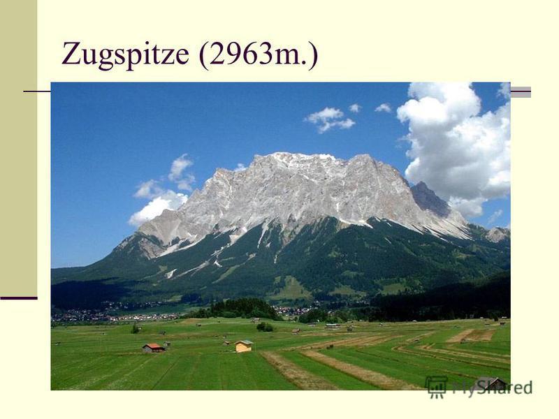 Zugspitze (2963m.)