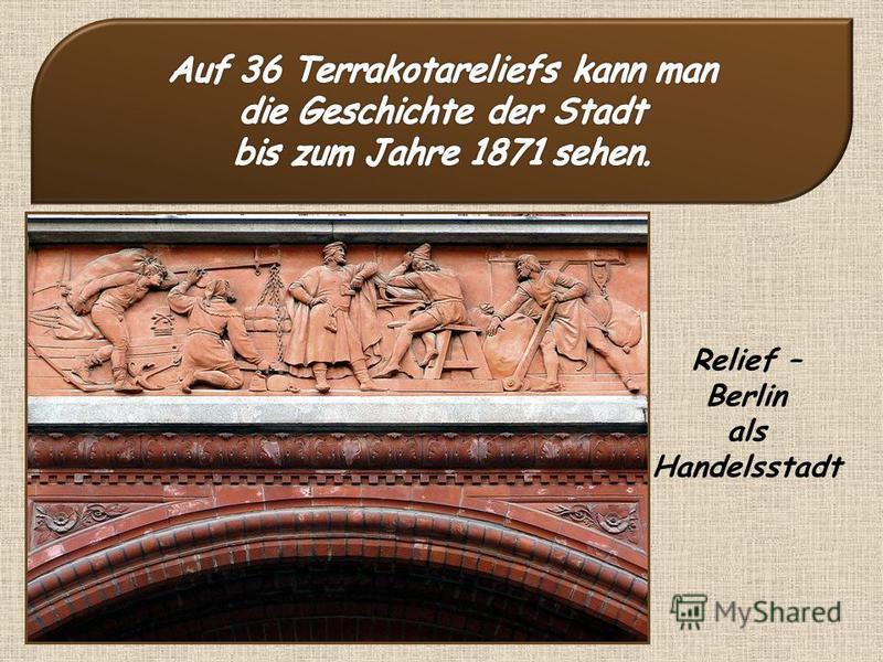 Relief – Berlin als Handelsstadt