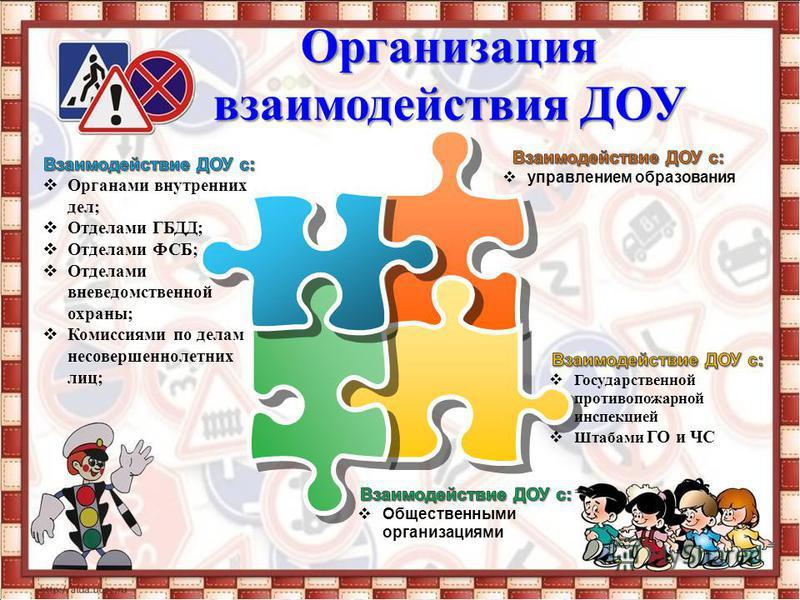 Организация взаимодействия ДОУ