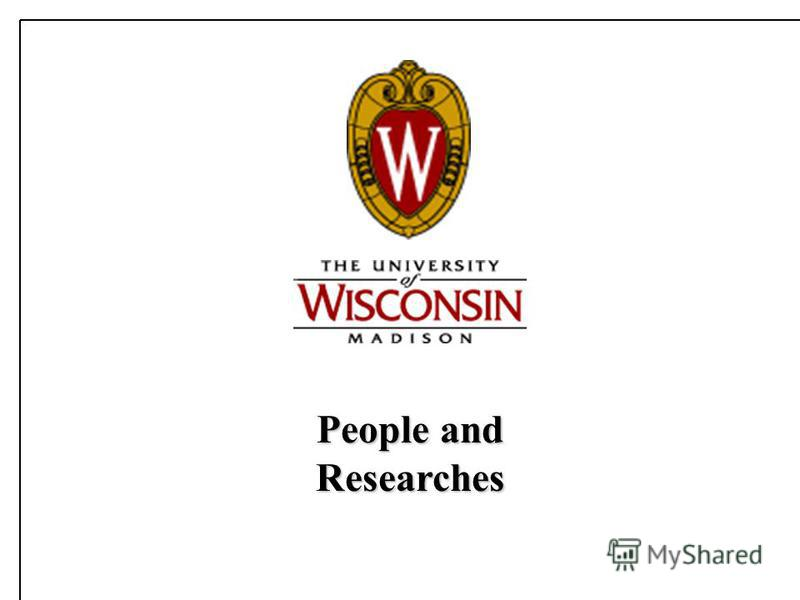 People and Researches