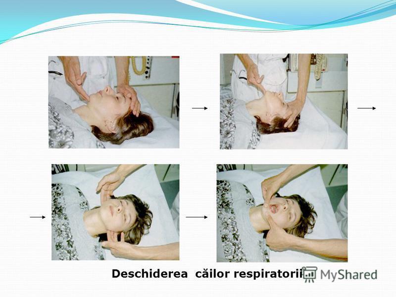 Deschiderea căilor respiratorii