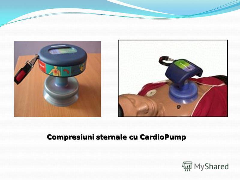 Compresiuni sternale cu CardioPump