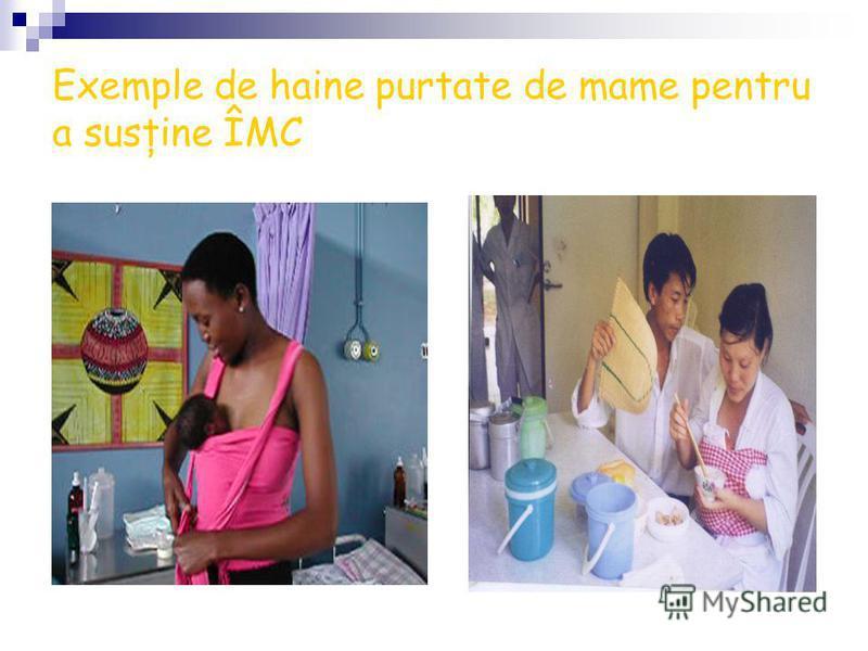 Exemple de haine purtate de mame pentru a susţine ÎMC