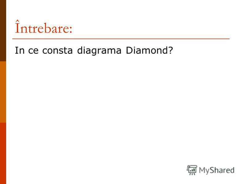 Întrebare: In ce consta diagrama Diamond?