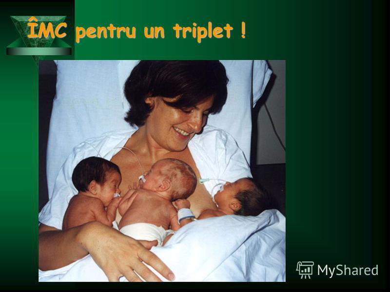 ÎMC pentru un triplet !