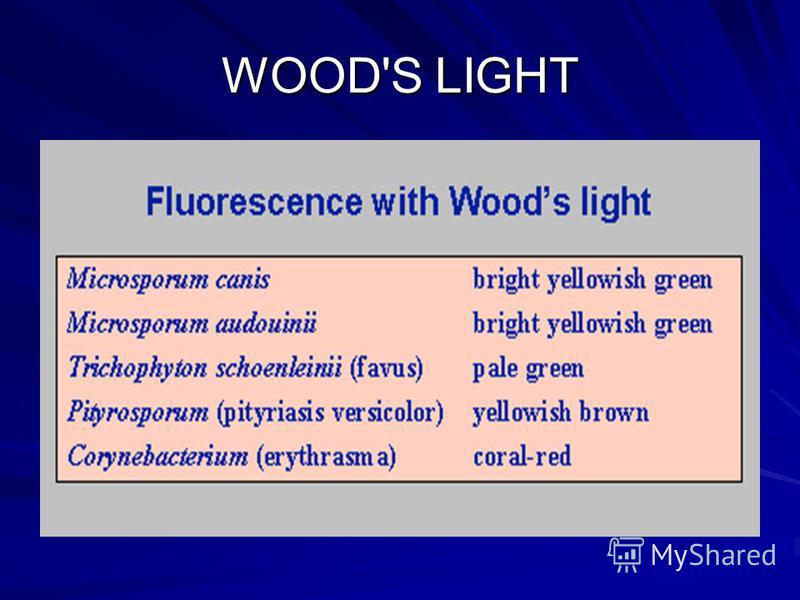 WOOD'S LIGHT